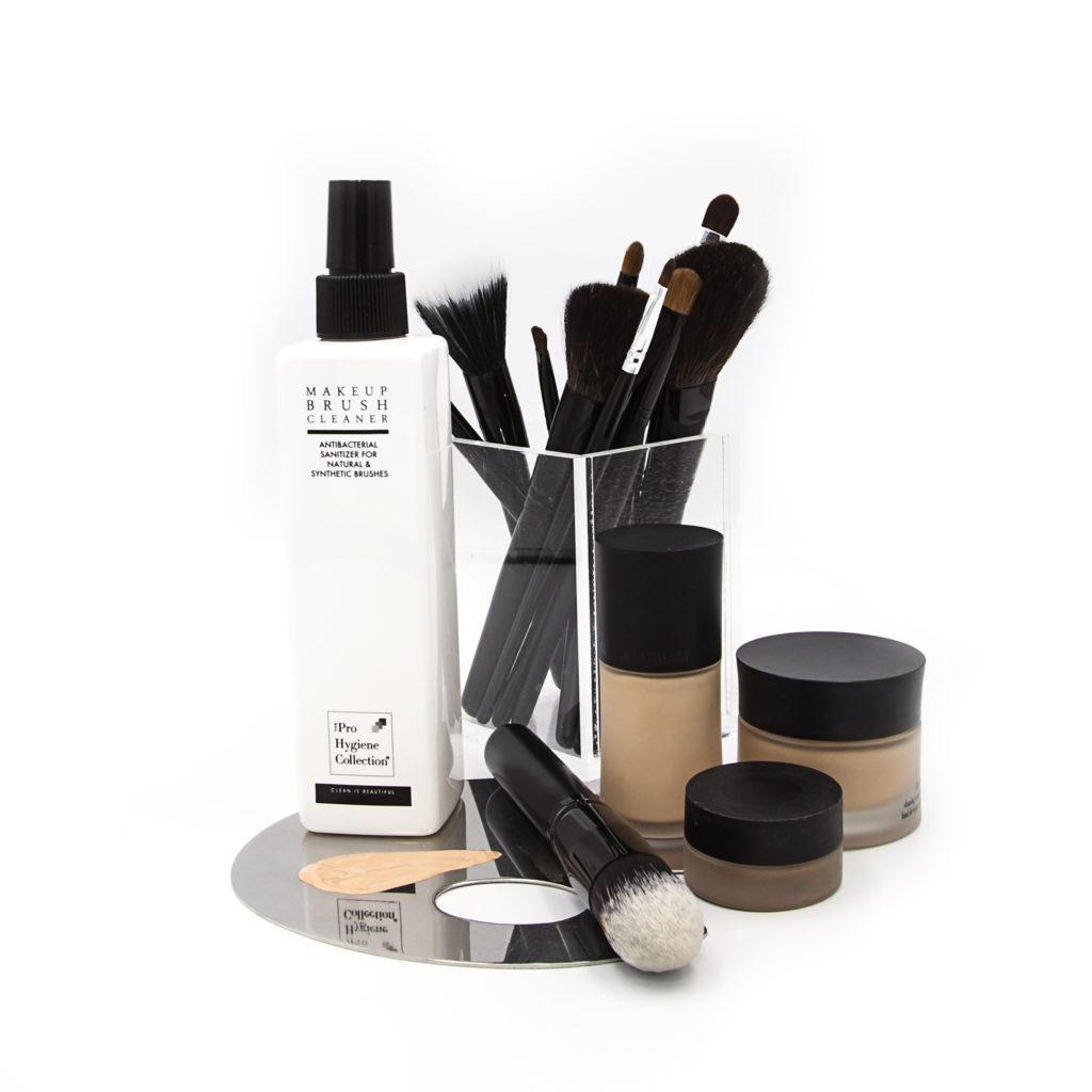 Makeup Brush Cleaner & Brushes