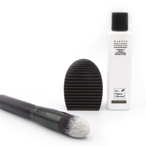 Brush Egg makeup bush cleaning finger glove