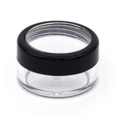 10ml jar round makeup sample jar