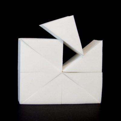 Makeup sponge latex-free white (block of 8)