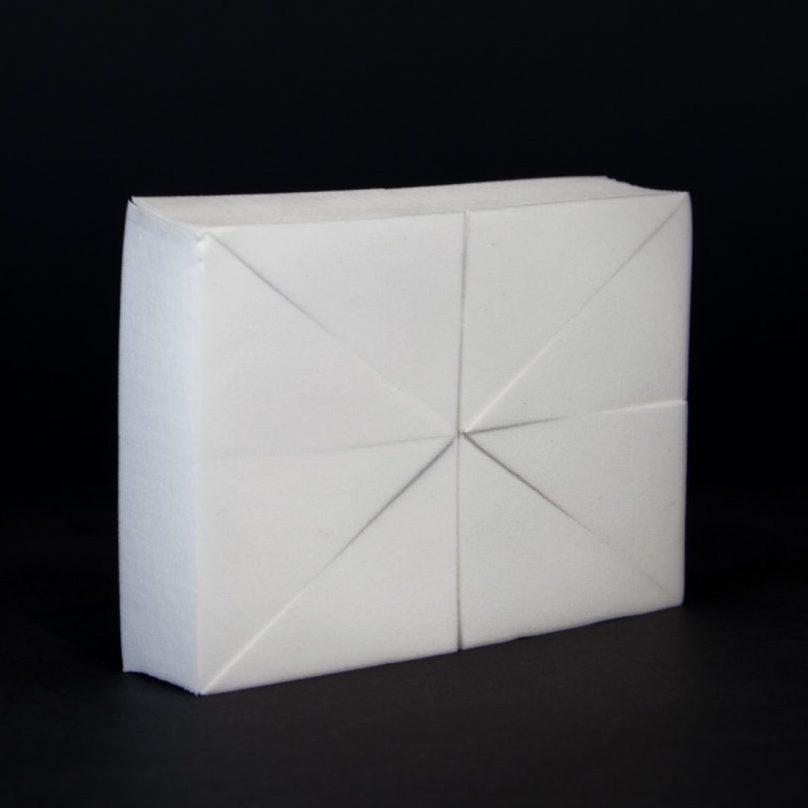 Makeup Sponge Latex Free White Block