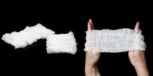 Disposable Cotton Headband