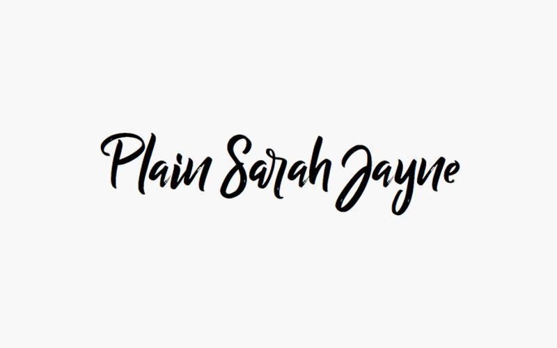 Plain Sarah Jayne