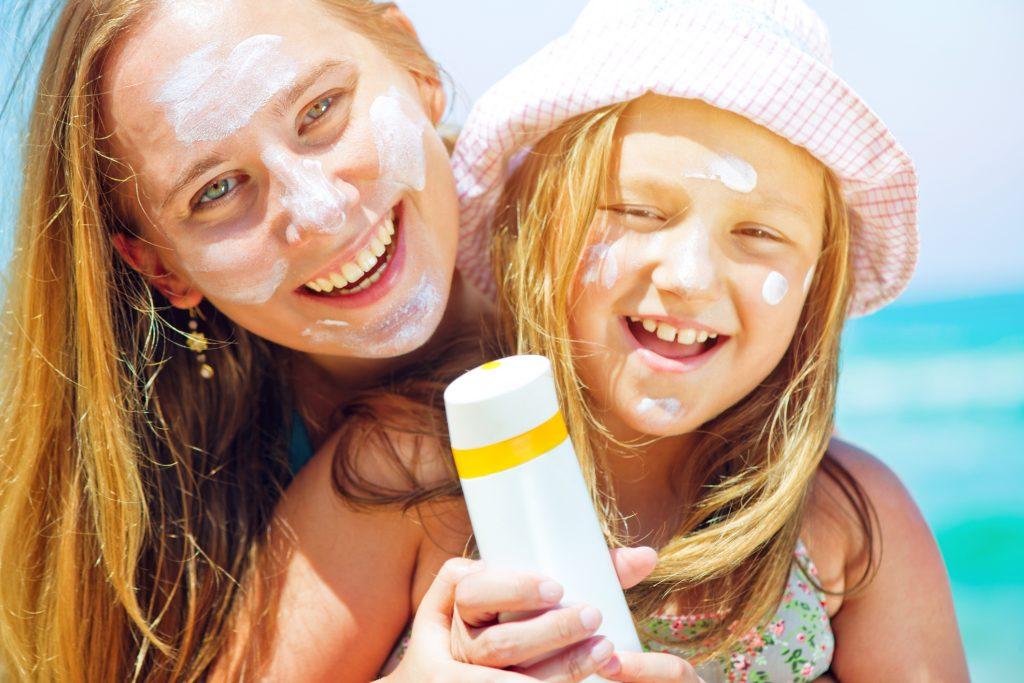 sun safety, use high sun protection factor