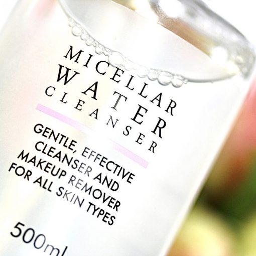 500ml micellar water cleanser